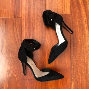JESSICA SIMPSON - Cayna Ankle Strap Pumps (5.5)